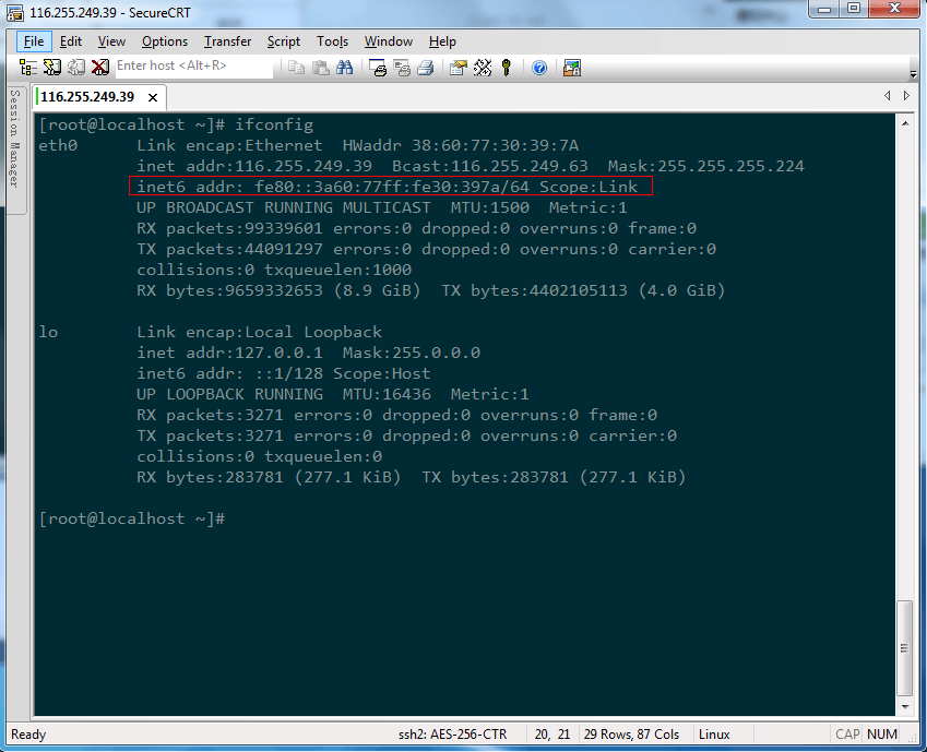 linux操作系统配置IPv6教程 教程 第3张