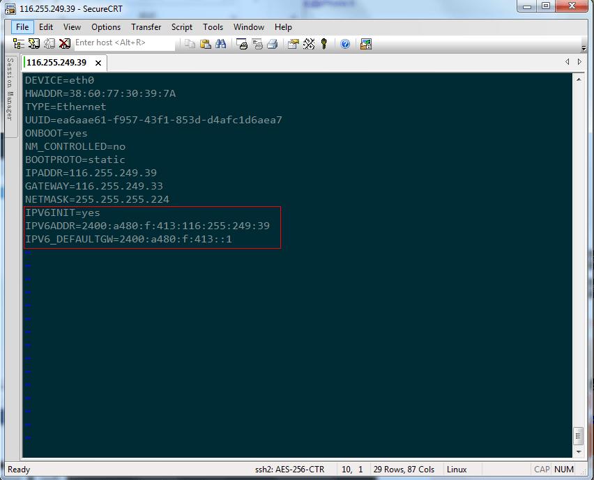 linux操作系统配置IPv6教程 教程 第8张
