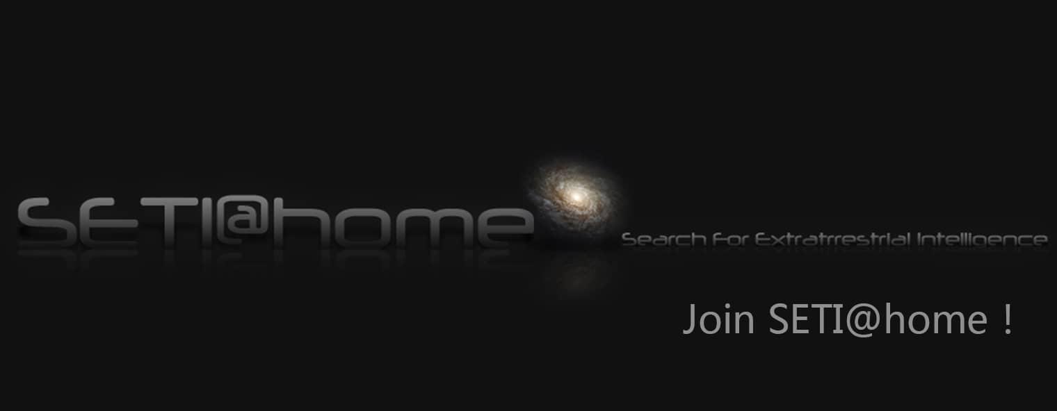 加入SETI@home!