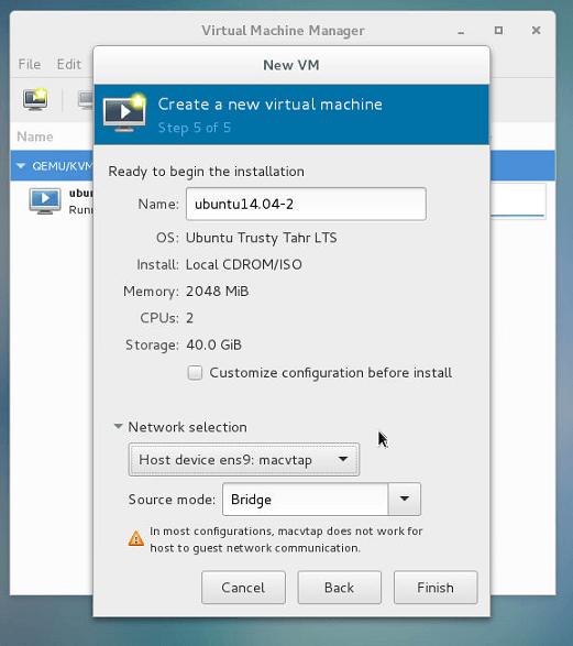 在CentOS中安装KVM平台搭建VPS 教程 第10张