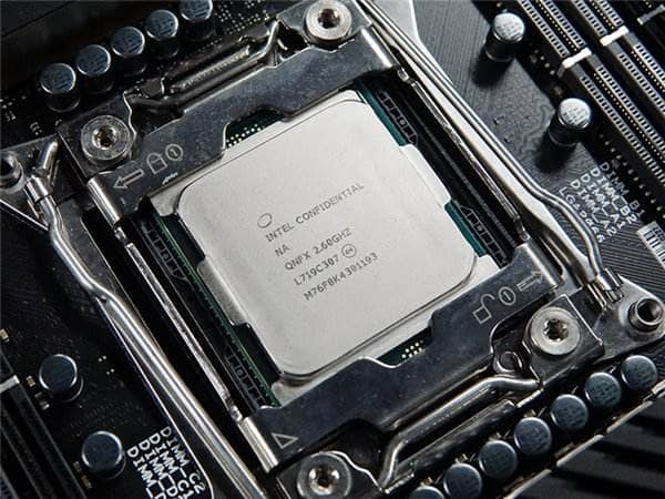 门罗币CPU算力排行 (intel)
