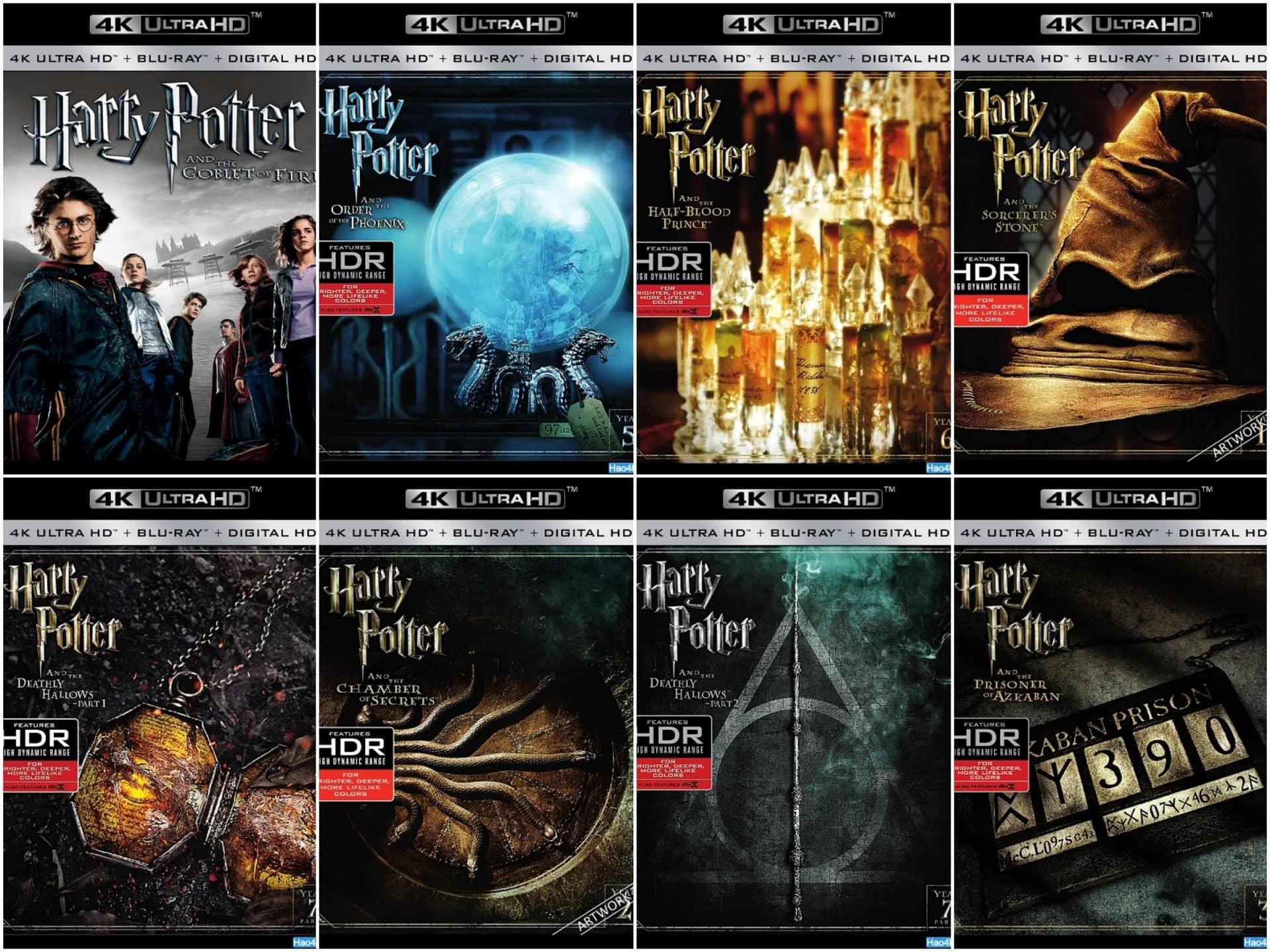 哈利波特1-8合集 4K蓝光原盘下载