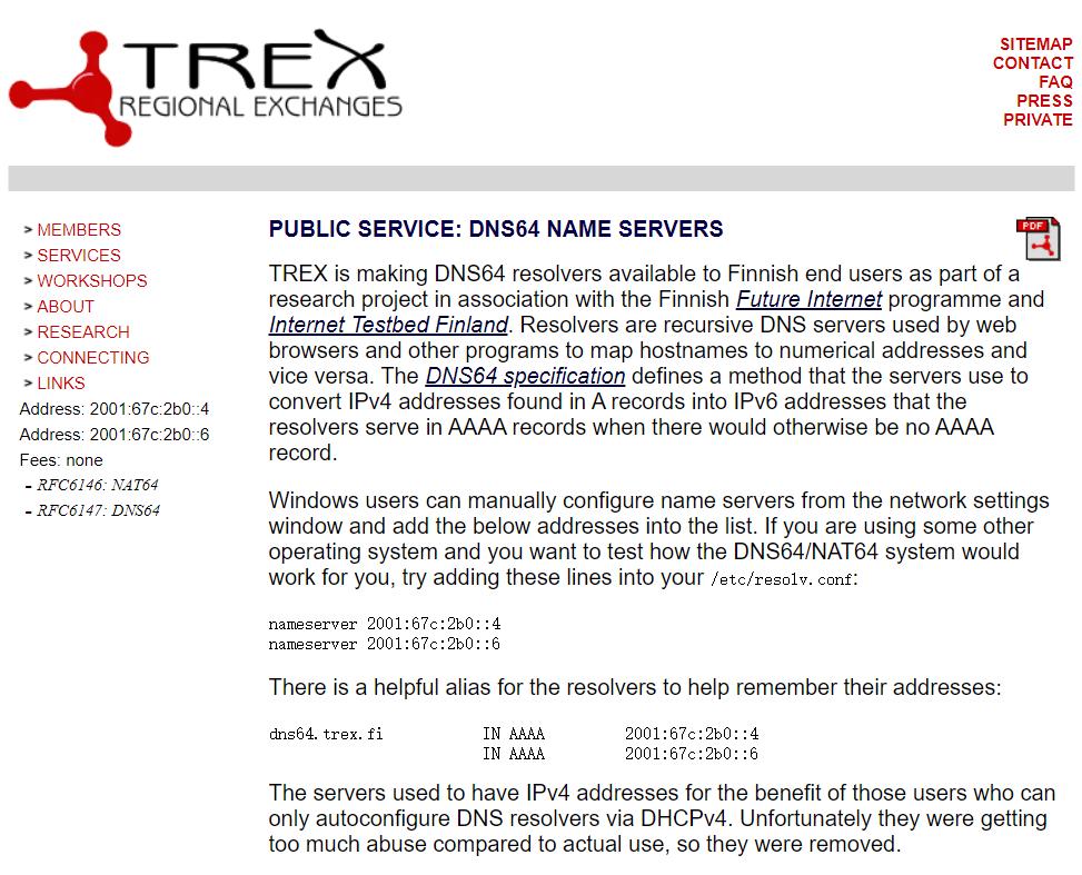 让纯IPV6主机支持IPV4网站访问